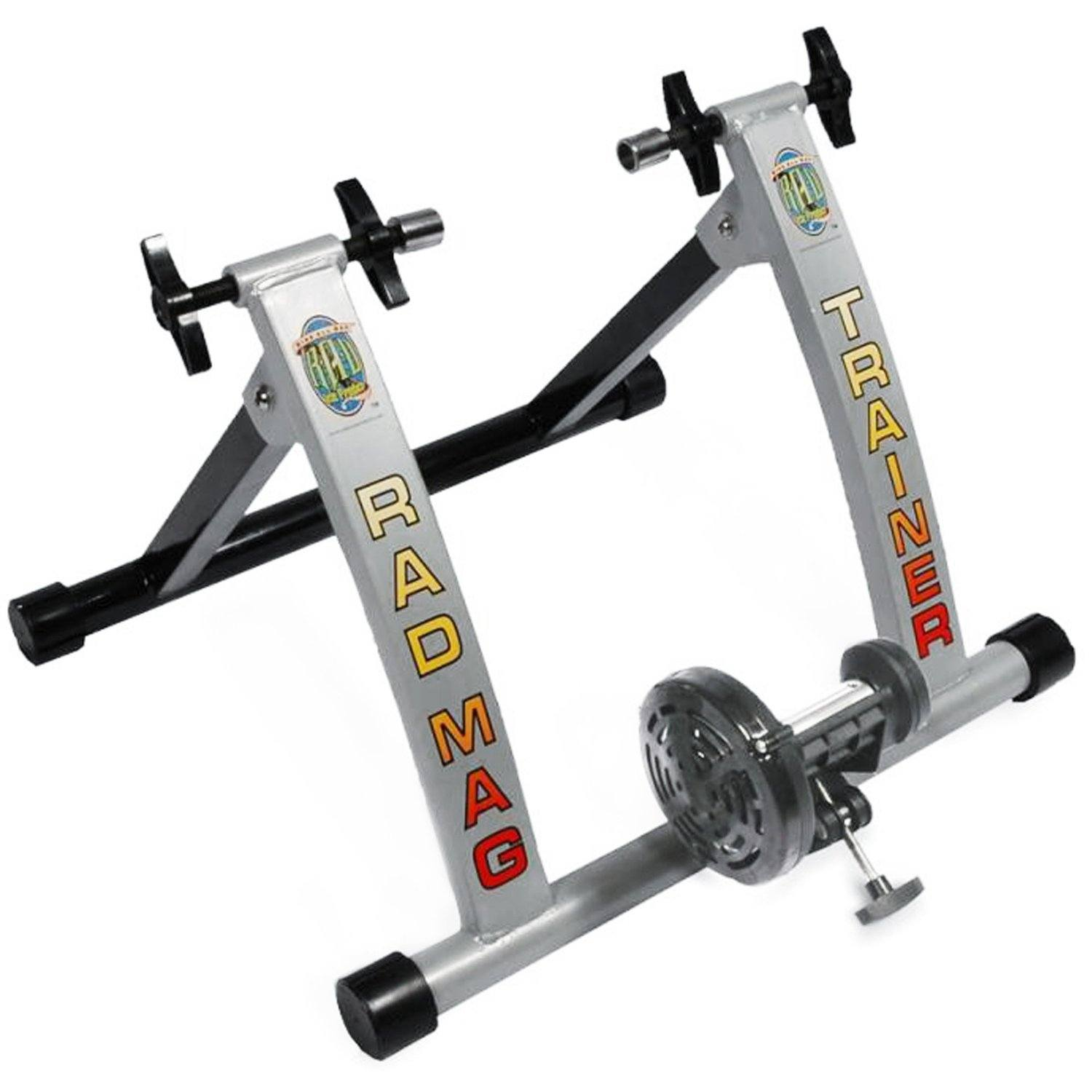 RAD Cycle Products Indoor Portable Magnetic Work Out Bicycle Trainer