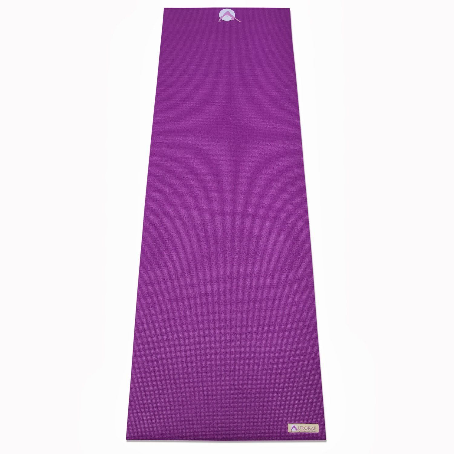 Aurorae Classic Thick 6mm Yoga Mat with Non-Slip Rosin