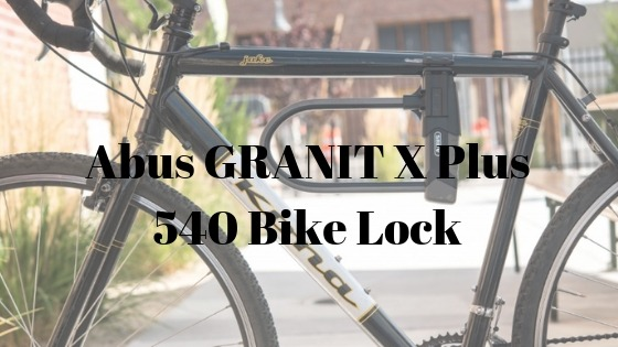 Abus GRANIT X Plus 540 Bike Lock