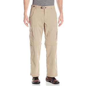 prAna Men's Stretch Zion Convertible 32 Pants