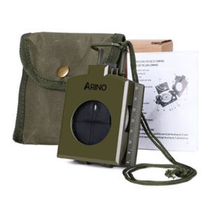 ARINO Military Marching Navigation Compass