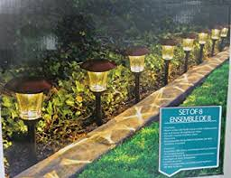 HGTV Solar LED Pathway Lights