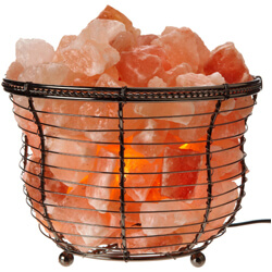 WBM Natural Air Purifying Himalayan Salt Lamp