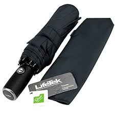 LifeTek Automatic Travel Umbrella