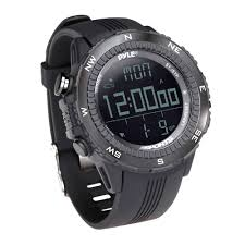 Pyle Digital Multifunction Sports Watch with and Weather Forecast