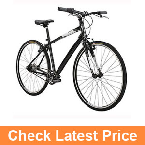 Diamond black bicycles insight STI-8 Hybrid Bike