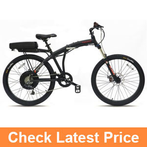 Prodeco V5 Phantom X2 8 Speed Folding Electric Bicycle