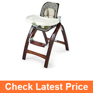Summer Infant Bentwood Highchair, Goose Down Gray