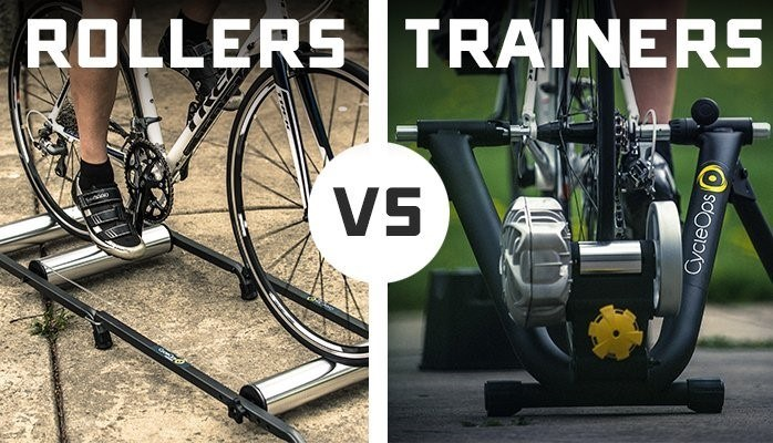 BIKE ROLERS VS TRAINERS