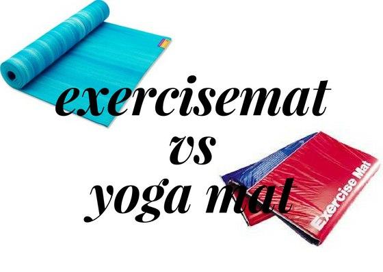 yoga mat vs exercise ma