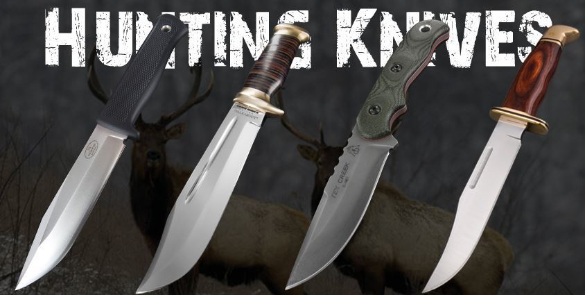 types of hunting knives