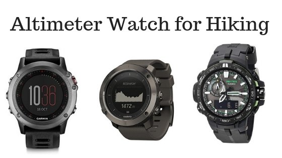 Altimeter Watch for Hiking
