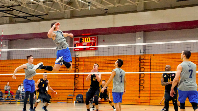Health Benefits of Playing Volleyball