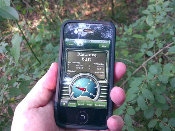 A-Handheld-GPS-use