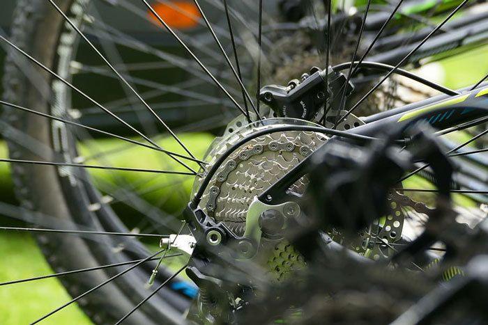 Gears-on-a-Mountain-Bike