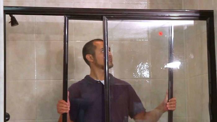 Install-Sliding-Shower-Doors