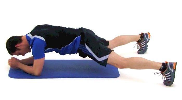 Plank-jacks