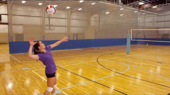 Serving-the-ball