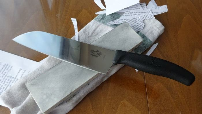 Sharpen-Victorinox-Knife