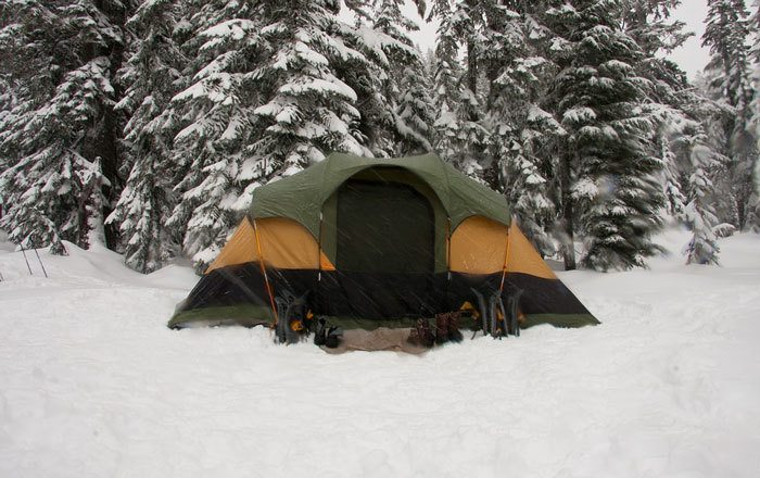 Warm-tent